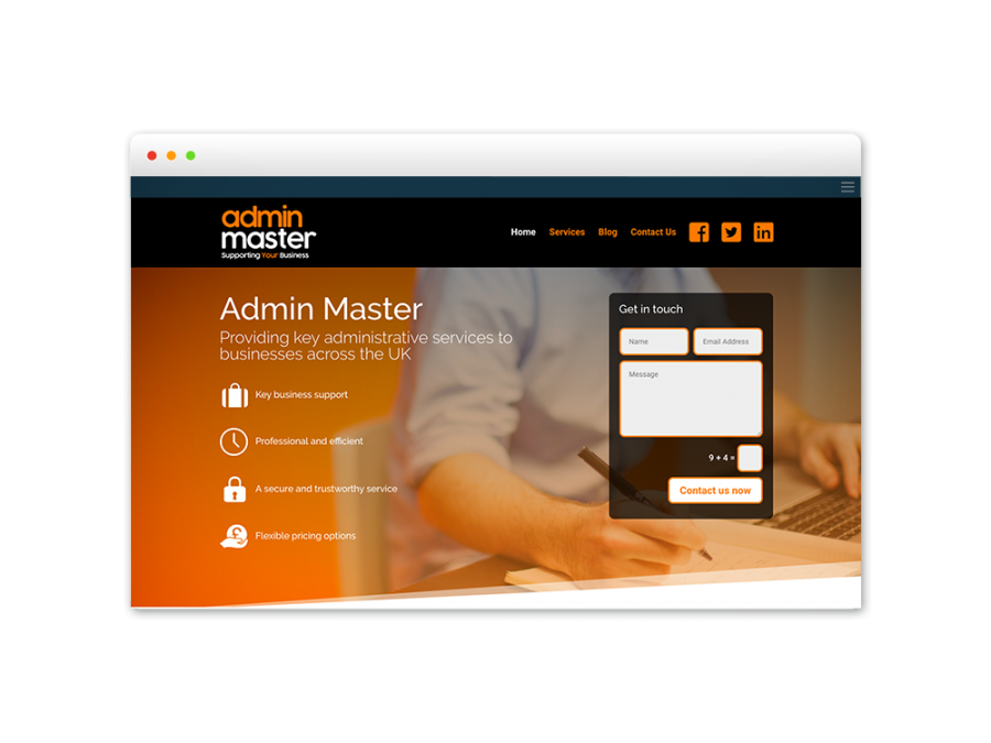 Admin Master Pict Digital Website