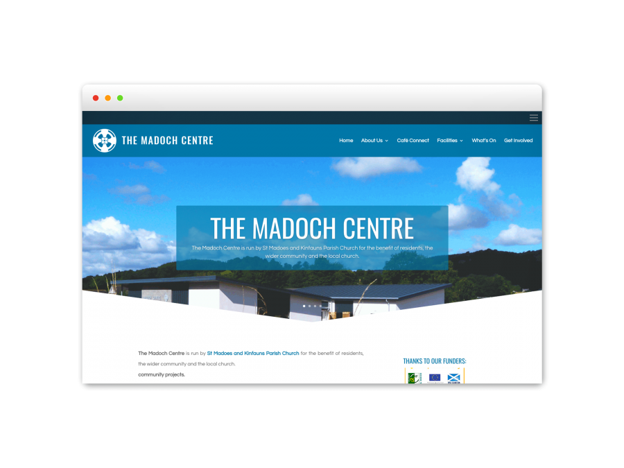 The Madoch Centre Pict Digital Website